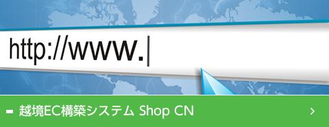 越境EC構築システムShopCN